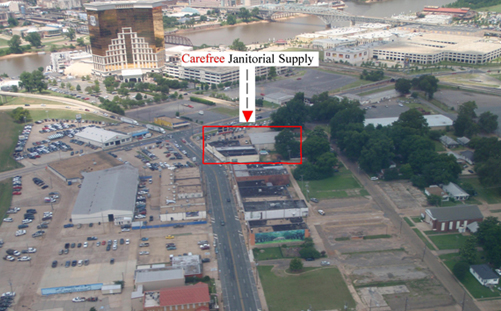 Carefree Janitorial Supply - Aerial Photo